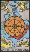運命の輪(正位置)