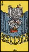 聖杯の9(逆位置)