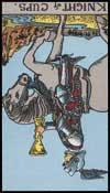 聖杯の騎士(逆位置)