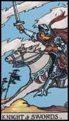 剣の騎士(正位置)